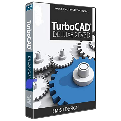 TurboCAD Deluxe 2019 2D Design