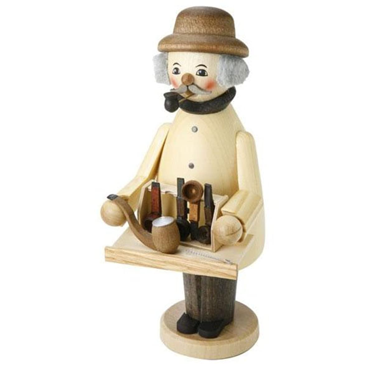 流星ヒット古風な39089 Kuhnert(クーネルト) ミニパイプ人形香炉 パイプ売り