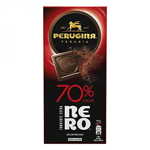 Perugina Nero Tavoletta di Cioccolato Fondente con 70% di Cacao - 85 g