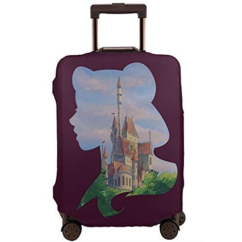Copribagagli lavabile valigia protettiva antigraffio copertura Be-L-E Beauty- Ed- The Be=Ast si adatta a 45,5 cm – 72,5 cm, multicolore, XL