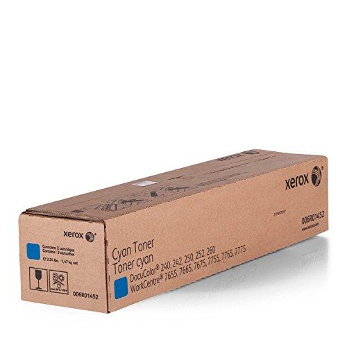 Xerox 006R01452 DocuColor 240, 250, 260 Tonerkartusche cyan 30.000 Seiten 2er-Pack