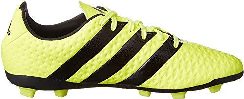 adidas Ace 16.4 FxG, Botas de fútbol para Niños, (Solar Yellow/Core Black/Silver Metallic), 36 EU