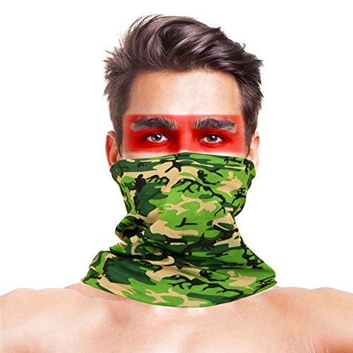 Hoogspringen IJsvissen Gezichtsmaskers Polyester Ademend UV-eiwit Camouflage Outdoor Vissen Sportkleding Bandana
