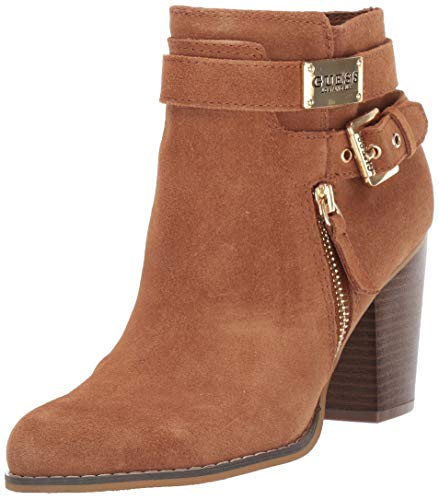 GUESS Gather Botas de moda para mujer, Marrón (Marrón), 38.5 EU