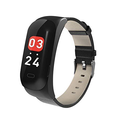 MLYWD 2 in 1 Armband Bluetooth Headset, Perfect Geluid Kwaliteit, Smart Armband Polsband met Hartslagmeter Stappenteller Stap Calorie Afstand Tracker Bel SMS Herinnering