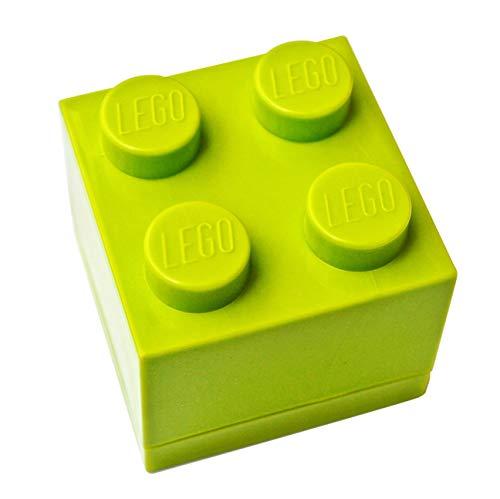 LEGO - Caja de regalo para joyas (verde lima), diseño de Lego