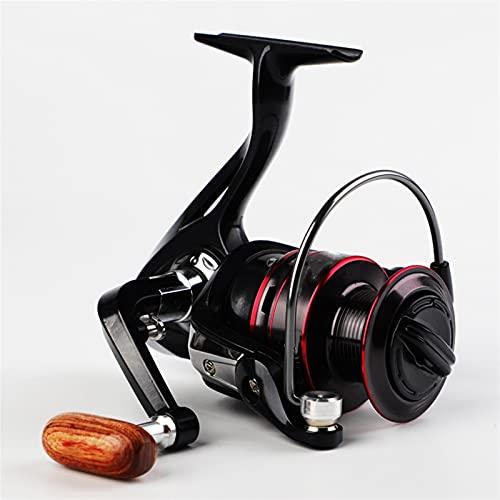 ZMMZ Carrete Reel De Pesca De La Taza De Alambre De Metal HB1000-HB6000 Carrete De Metal Carrete Giratorio De Alta Velocidad 5.2: 1 Carrete De Pesca (Size : HB3000)