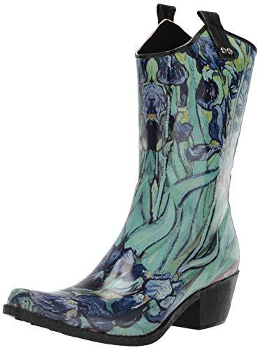 Nomad Women's Yippy Rain Boot, Irises, 10 Medium US