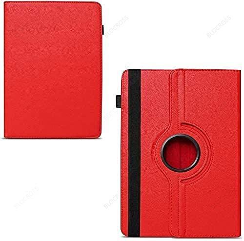 TTYYNN Funda para tablet Samsung Galaxy Tab E/4/A/S2 de 8,0 pulgadas Mini 1/2/3/4/5 para Huawei/Lenovo, universal rojo, universal de 10 pulgadas