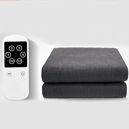 PPBB Electric Blanket Single Heated Underblanket Large 180 * 80cm with 4 Heating Levels, Fast Heating Non-woven fabric Material, 12h timing