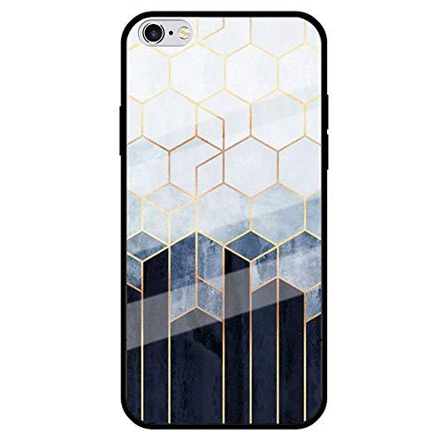 Jinghaush - Funda para iPhone 6/6S de 4,7 pulgadas, carcasa de mármol...