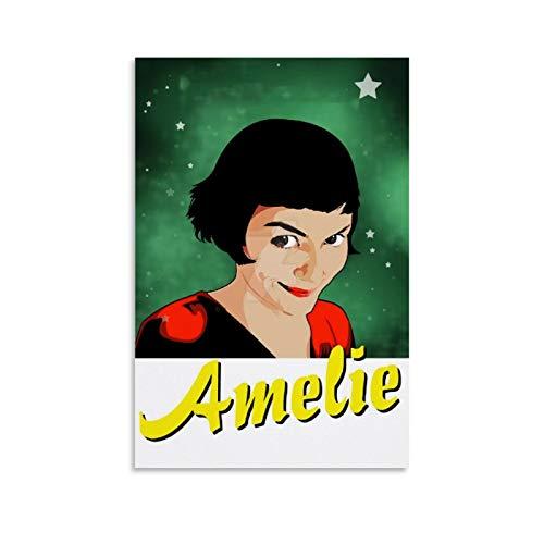 DRAGON VINES Amelie Best Actress Poster, Wandkunstdruck, Leinwand, Kunstdruck, Gemälde, Wohnzimmer, 30 x 45 cm