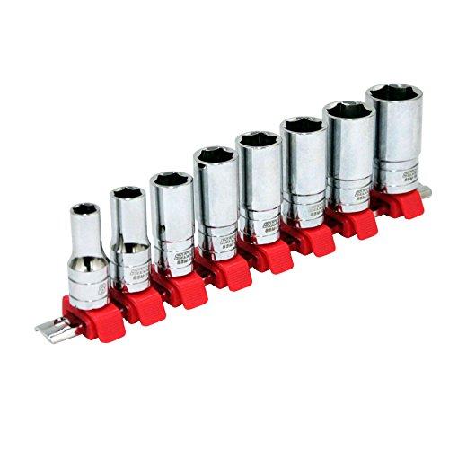 SK11 セミディープソケットセット 差込角 9.5mm (3/8インチ) 8・10・12・13・14・15・17・19mm SHS308SD