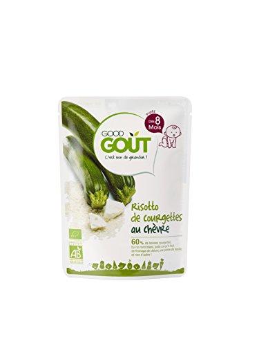 Good Goût - BIO - Risotto de Courgettes au Chèvre dès 8 Mois 190 g