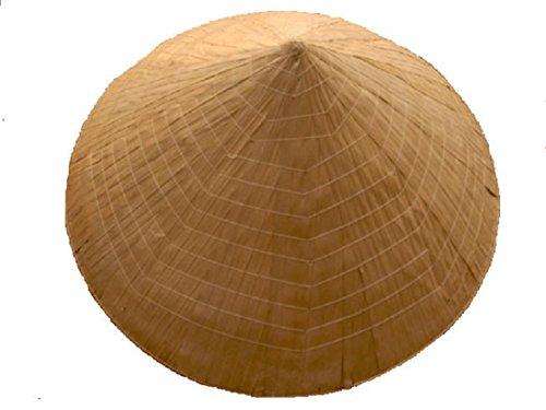 Terrapin Trading Fair Trade Authentic Vietnamese Konische Reisbauern Hut/Non La [Kleid]