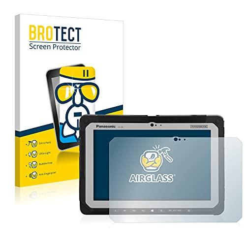 BROTECT Panzerglas Schutzfolie kompatibel mit Panasonic Toughbook CF-20-9H Extrem Kratzfest, Anti-Fingerprint, Ultra-Transparent