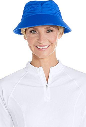 Coolibar Mujer Protección UV Sol Tapa, Mujer, 02360-4063/S-M, Turquesa, S/M/58CM