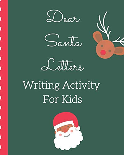 Dear Santa Letters Writing Activity For Kids: The North Pole | North Pole | Crafts and Hobbies | Kid's Activity | Write Your Own | Christmas Gift | Mrs Claus | Naughty or Nice | Mailbox | Elf