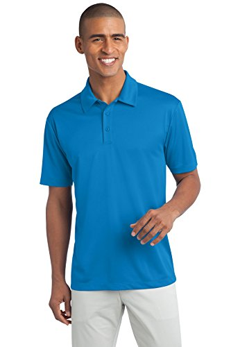 Port Authority Men's Silk Touch Performance Polo 3XL Brilliant Blue