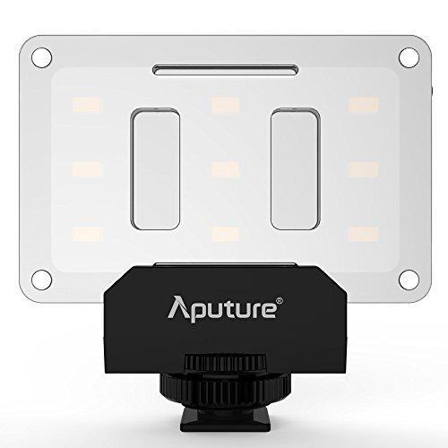 Aputure AL-M9 Mini LED per riprese video e macrofotografia - nero