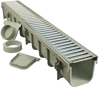 Nds 3 Packs Channel Drain Kit/Grate