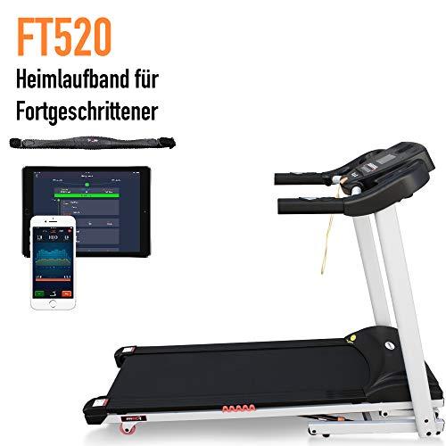 Laufband FT520 von Fitifito inkl. Pulsgurt