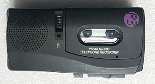 P3 International P5045 Micro Telephone Recorder - Black