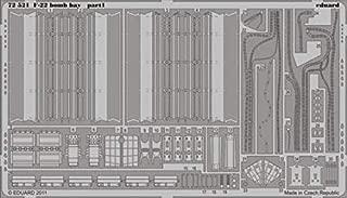 Eduard 1:72 F-22 Bomb Bay PE Detail Set for Academy #72521