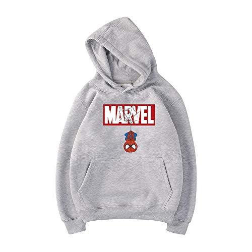 Marvel Spider-Man Hoodie Street Hip-Hop Jacket Student Street Fashion Pareja Sudadera C-S