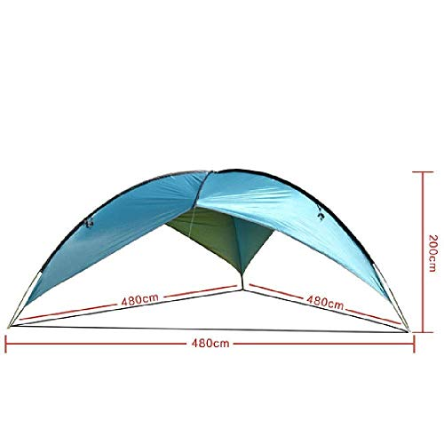 CCJW 7-10 People Quickly Build Ultra-light Portable Tents, Sun Protection, Sun Protection, Waterproof Fishing Beach Picnic 200 * 480cm kshu
