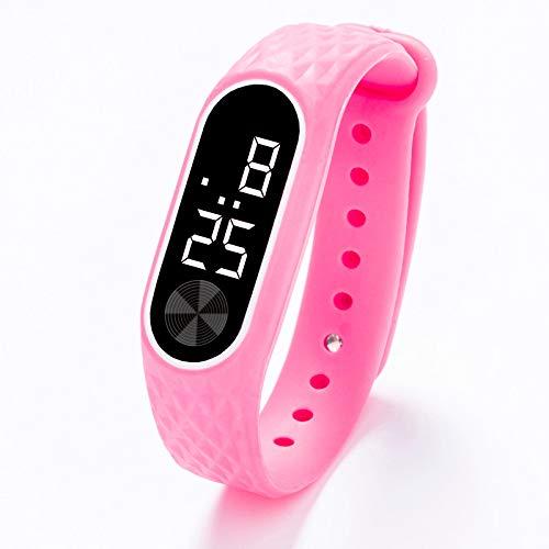 WoCoo - Reloj de Pulsera Digital con Pantalla LED y Gel de sílice para Adolescentes