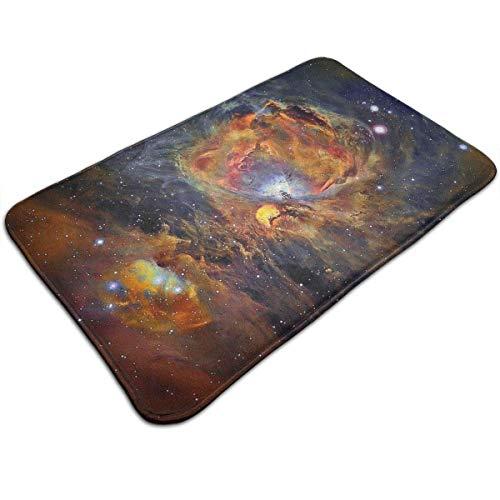 N/A Badematten rutschfeste Matten Universe Vortex Fußmatten super saugfähig für drinnen und draußen, 49,5 x 80 cm