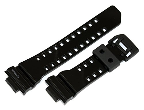 Casio 10479599 Ersatz-Uhrenarmband aus Harz, passend für GBA-400-1A