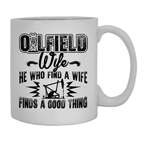 N\A Taza de la Esposa del Campo petrolífero, Taza de café, Taza de café Grande
