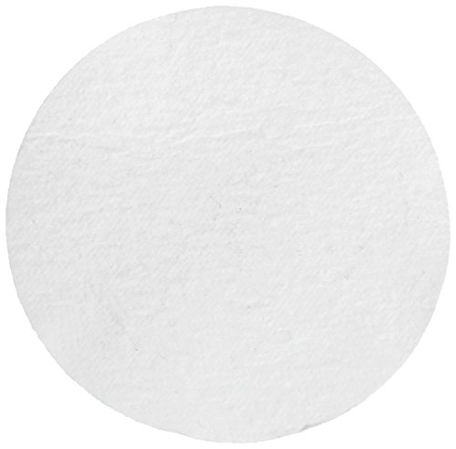 Whatman 1825-025 Glass Microfiber Binder Free Filter, 0.7 Micron, 19 s/100mL Flow Rate, Grade GF/F, 2.5cm Diameter (Pack of 100)