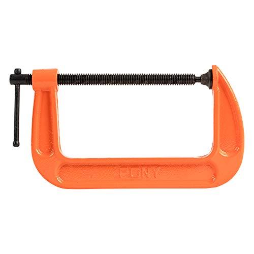 Pony Jorgensen 2660 6-Inch C-Clamp, Orange