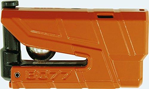 ABUS 8077–2Bremsscheibenschloss Alarm Moto SRA, Orange