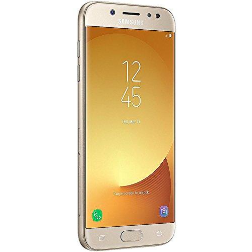 SAMSUNG Galaxy J7 Pro (16GB) J730G/DS - 5.5' Full HD Dual SIM Unlocked Phone with Finger Print Sensor (US & Latin 4G LTE) (Gold)