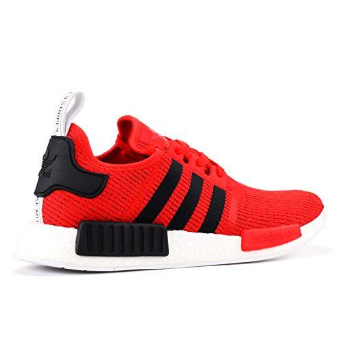 Adidas Originals Damen NMD _ XR1Primeknit Laufschuhe, Rot (Core Red / Core Black / Running White Ftw), 46.5 EU D(M)