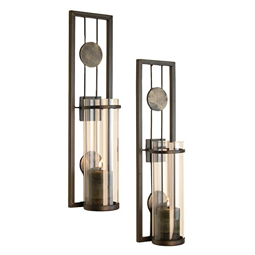 Danya B Antique-Style Metal Sconce - Best Candle Sconce