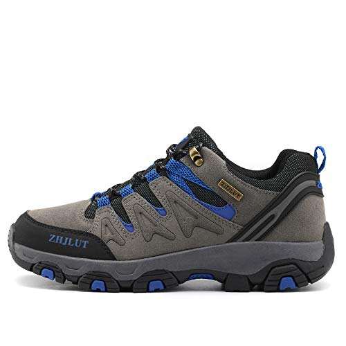 BOTEMAN Zapatillas de Senderismo para Mujer Zapatillas de Trekking para Hombre Botas de Montaña Transpirable Antideslizante Al Aire Libre Zapatillas de Deporte Unisex Calzado de Trekking