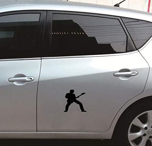 Auto Tank Sticker Spelen Gitaar Auto Stickers Raam Glas Laptop muur Bumper Deur Thuis Van Decal Auto Stickers Raam