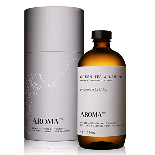 AromaTech Green Tea and Lemongrass for Aroma Oil Scent Diffusers - 120 Milliliter