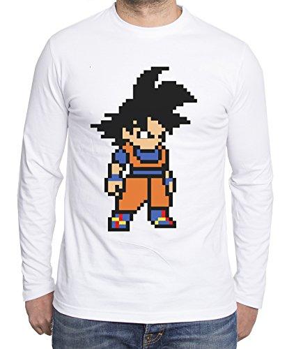 Sambosa - T-Shirt à Manches Longues - Homme - Blanc - M