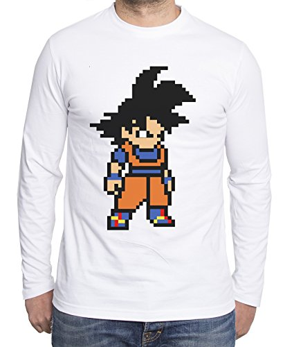 Sambosa - T-Shirt à Manches Longues - Homme - Blanc - XX-Large