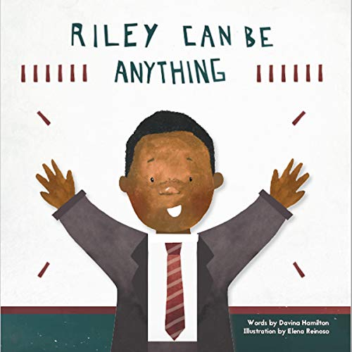Riley Can Be Anything audiobook cover art