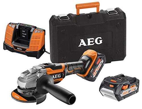AEG Winkelschleifer Aeg Bews18-115blli-502c 18v 2x5.0ah