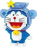 Bloques De Construcción De Personajes De Dibujos Animados, Doraemon Alivio De Estrés 3D Puzzle DIY Juguetes para Niños Adultos,C