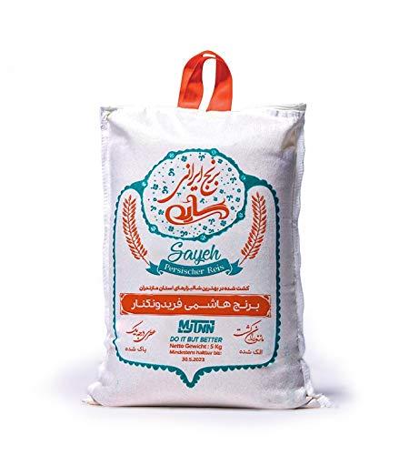 MyTNN Reis 5 Kg Premium Qualität Original orange Verpackung mit besonderem Aroma für Liebhaber orientalischer Küche (Hashemi Reis)
