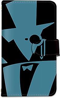[bodenbaum] isai vivid LGV32 手帳型 スマホケース カード スマホ ケース カバー ケータイ 携帯 LG エルジー イサイ ビビッド au 怪盗風 ブラック a-327 (B.ブルー)
